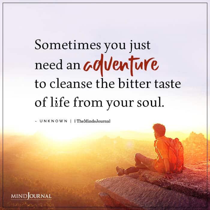 adventure  - childlike qualities