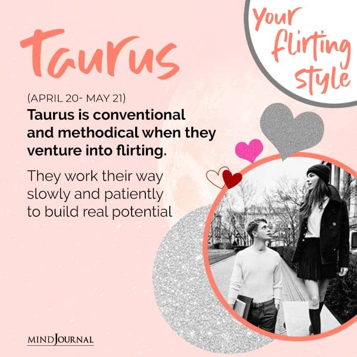 Taurus is conventional and methodical
