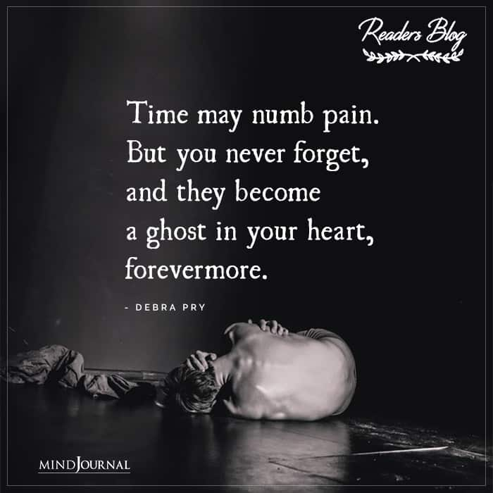 Time May Numb Pain