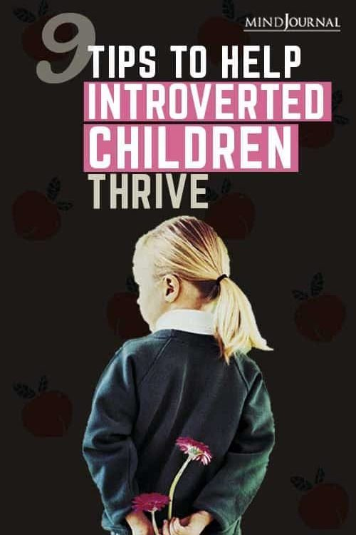 Tips Help Introverted Children Thrive Pin