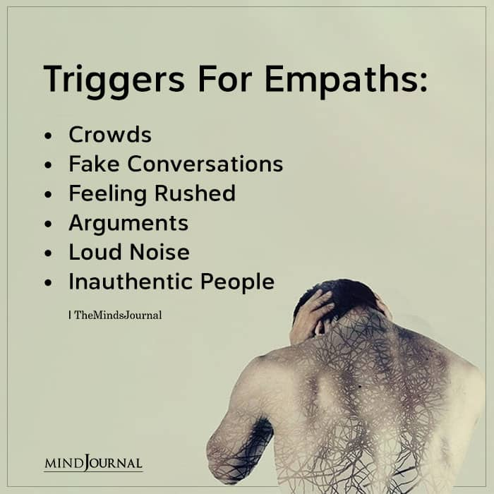 triggers for empaths