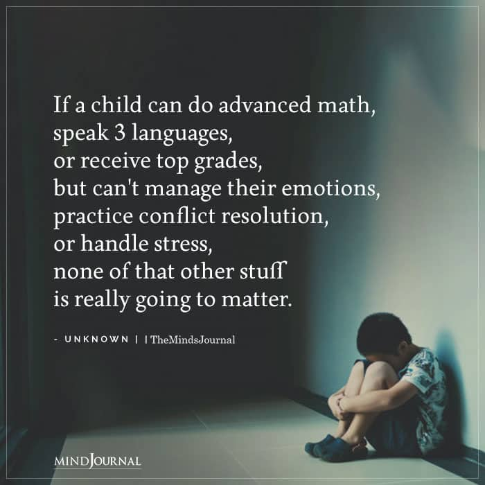 When A Child Can Do Math But Cant Handle Emotions