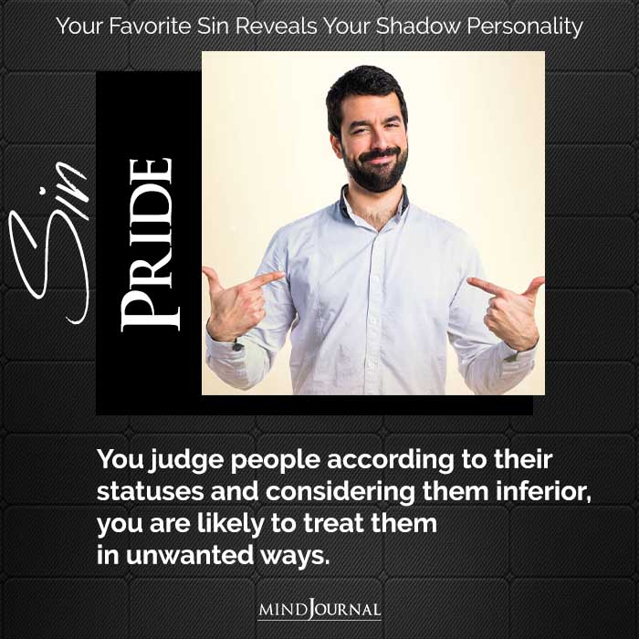 Choose Your Favorite Sin To Reveal Your Shadow Personality
