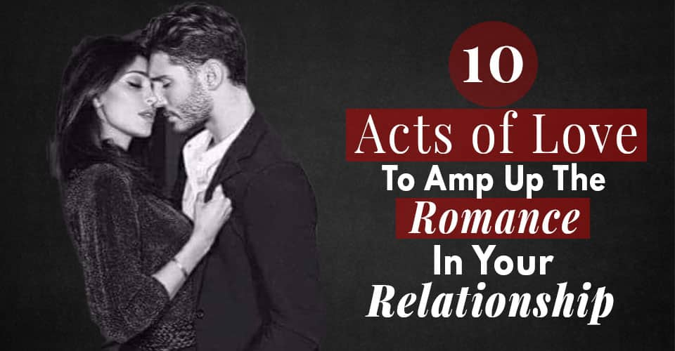 act of love to amp up romance