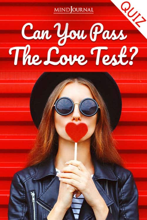 can you pass the love test pin