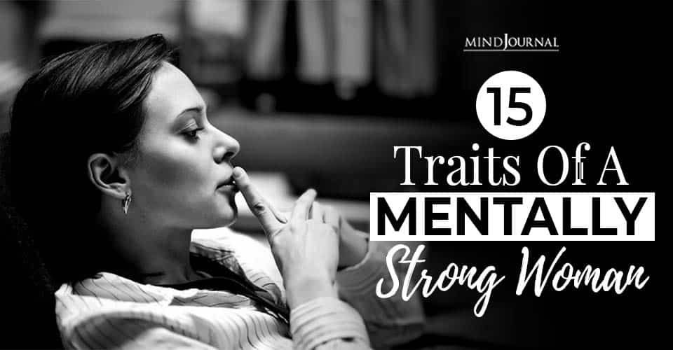 traits of a mentally strong woman