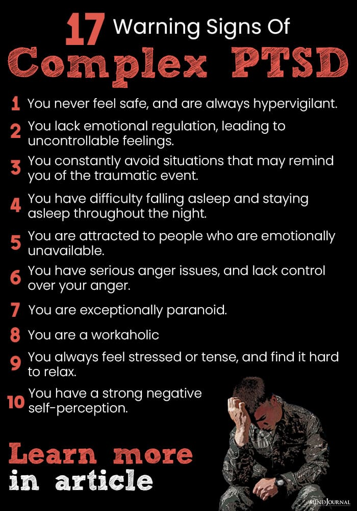 warning signs of complex ptsd info