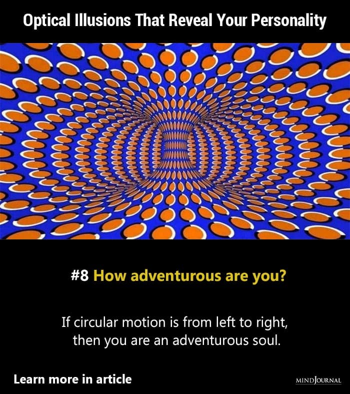 10 Moving Optical Illusions That'll Trick Your Brain And Reveal Your Personality
