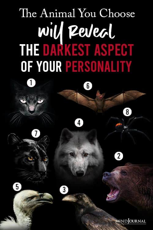 Animal You Choose Will Reveal Darkest Aspect Your Personality Pin