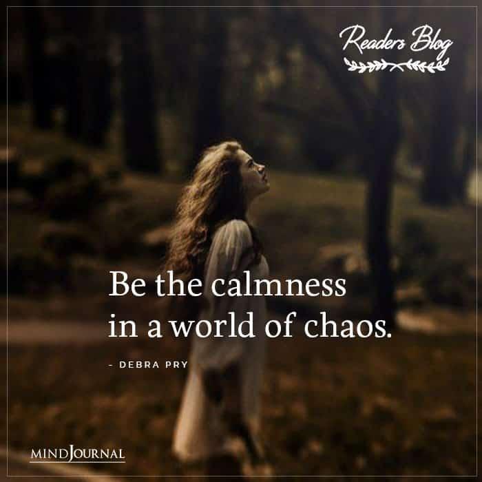 Be The Calmness
