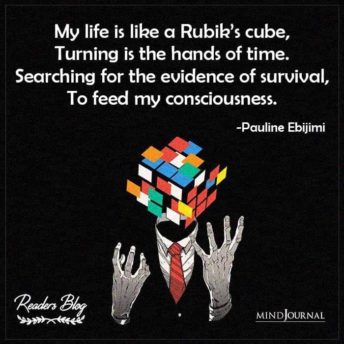 My Life Is Like A Rubik's Cube
