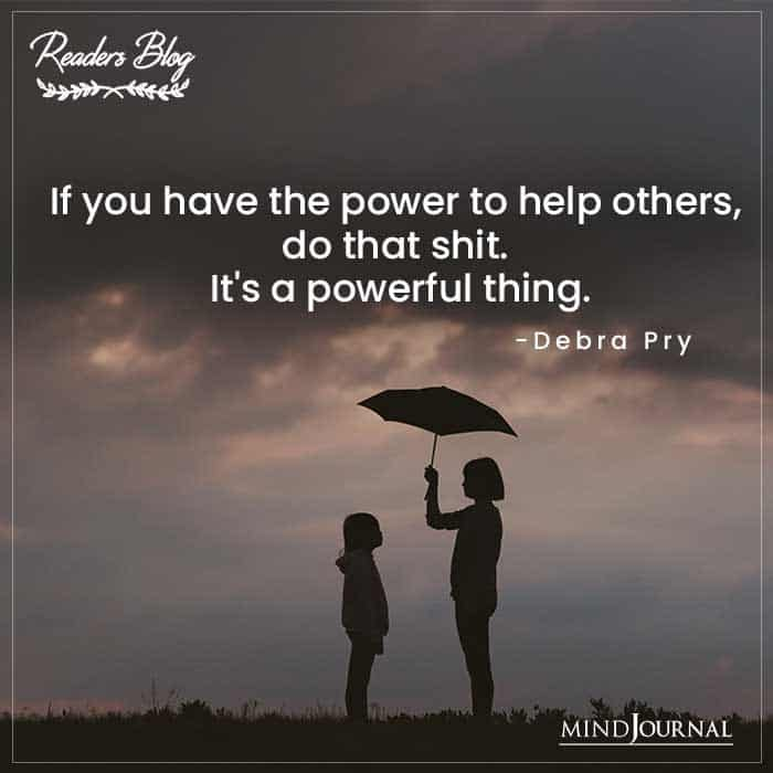 Power To Help Others
