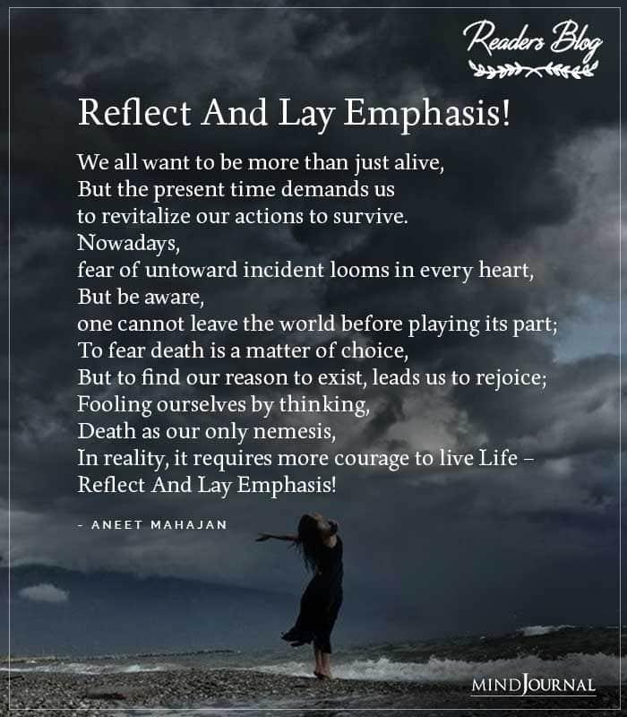 Reflect And Lay Emphasis