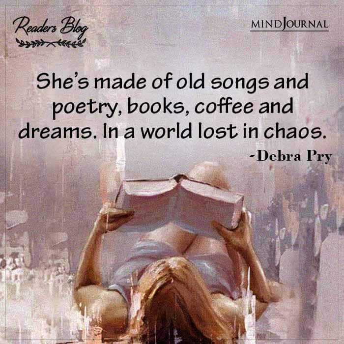 She's Made Of Old Songs And Poetry