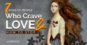 Signs People Crave Love Stop It