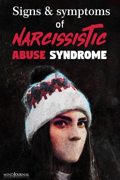 Signs Symptoms of Narcissistic Abuse Syndrome pin