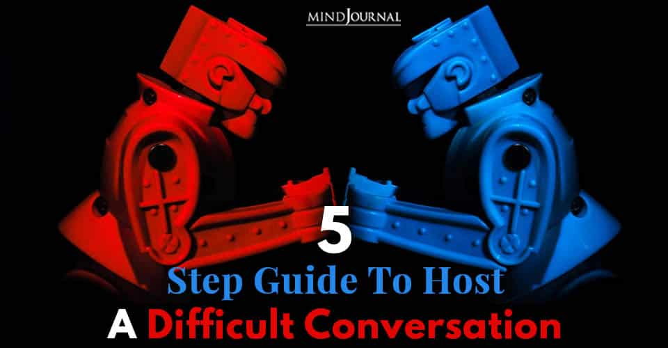 Step Guide Host Difficult Conversation