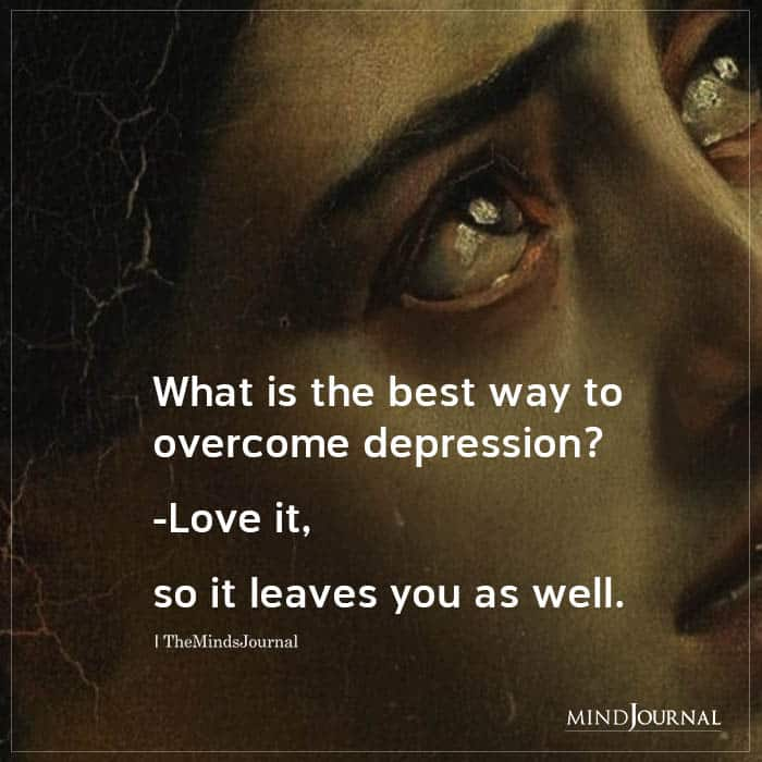 What Is The Best Way To Overcome Depression