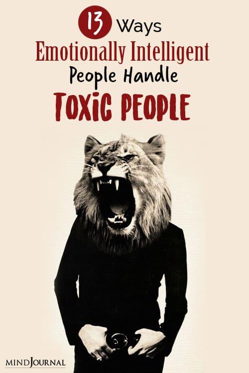 handle toxic people pin