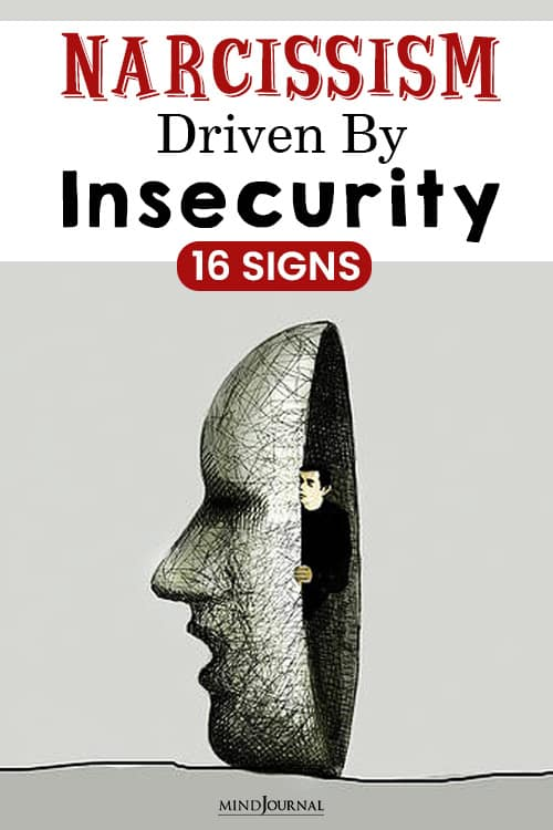 narcissism driven by insecurity pin