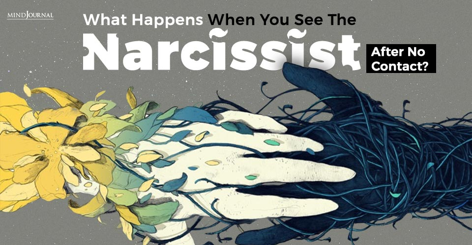 you see the narcissist