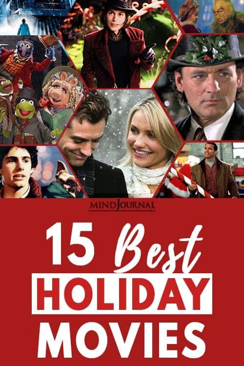 15 holiday movies Pin