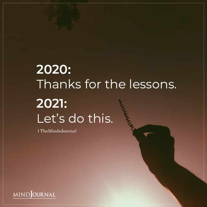 2020 Thanks For The Lessons