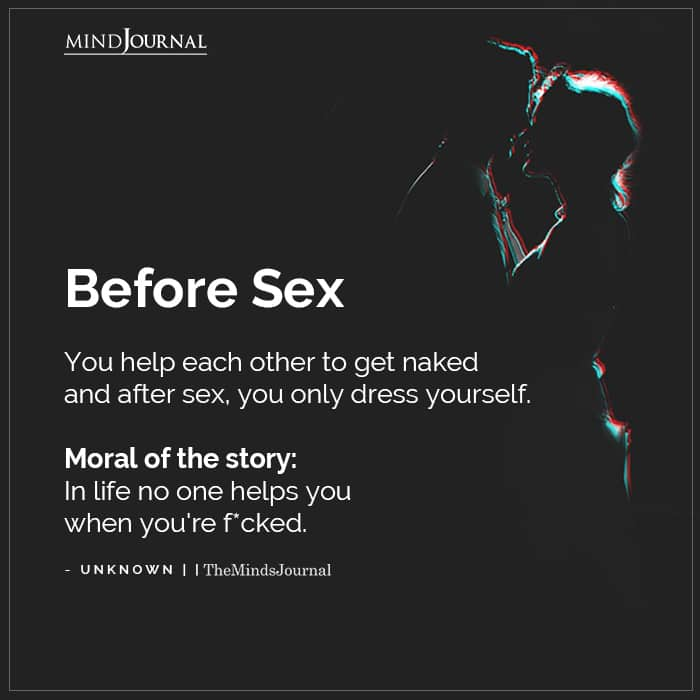 Before Sex You Help Each Other To Get Naked