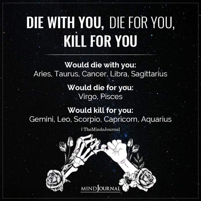 Die With You Vs Die For You Vs Kill For You