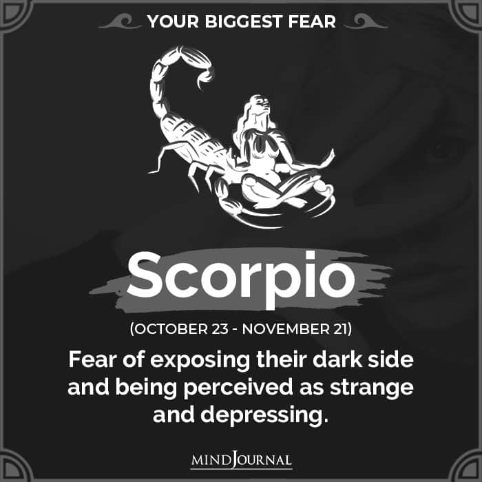 Your Biggest Fear Based On Your Zodiac Sign