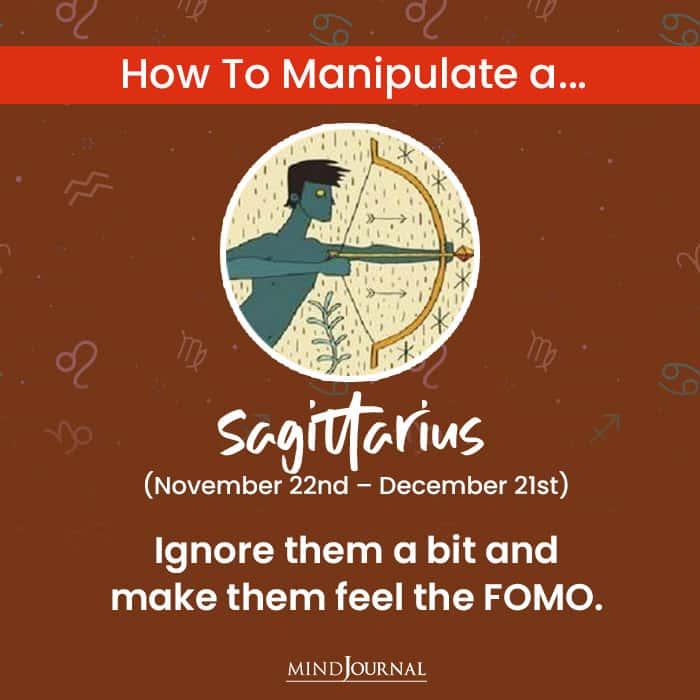 How To Manipulate sagittarius