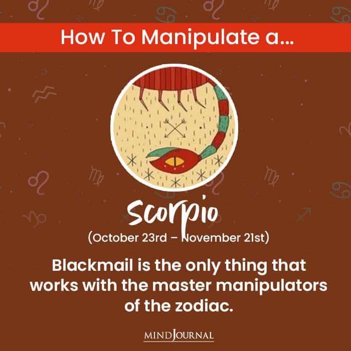 How To Manipulate scorpio