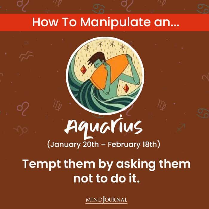 How to Manipulate aquarius