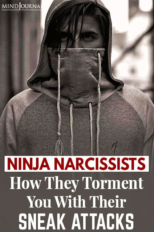 Ninja Narcissists pin
