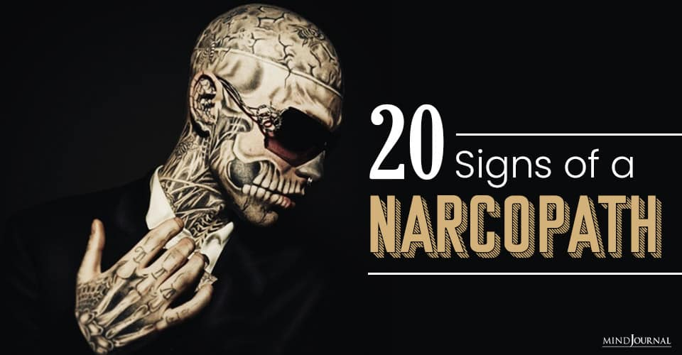 Signs of a Narcopath