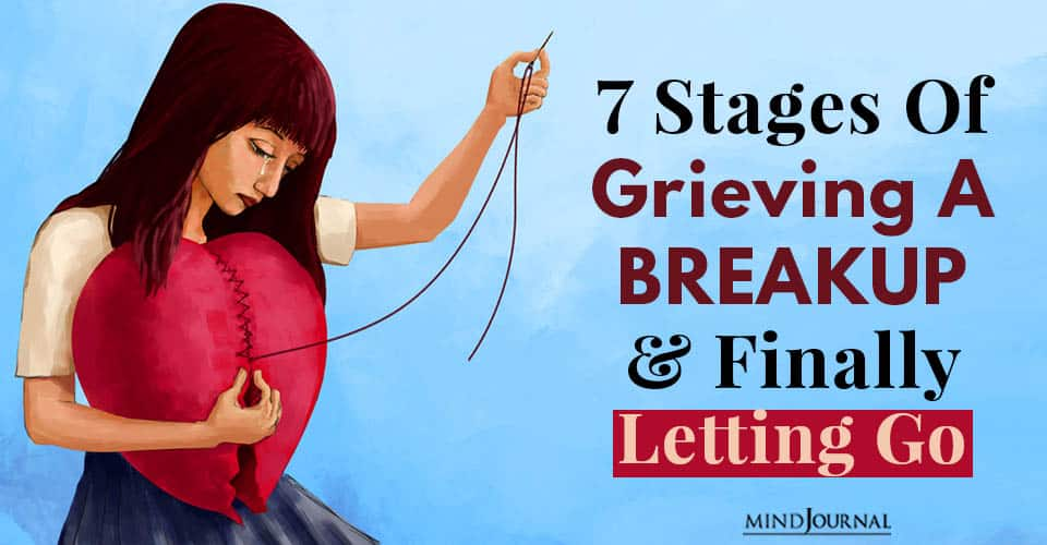 Stages Grieving Breakup Letting Go
