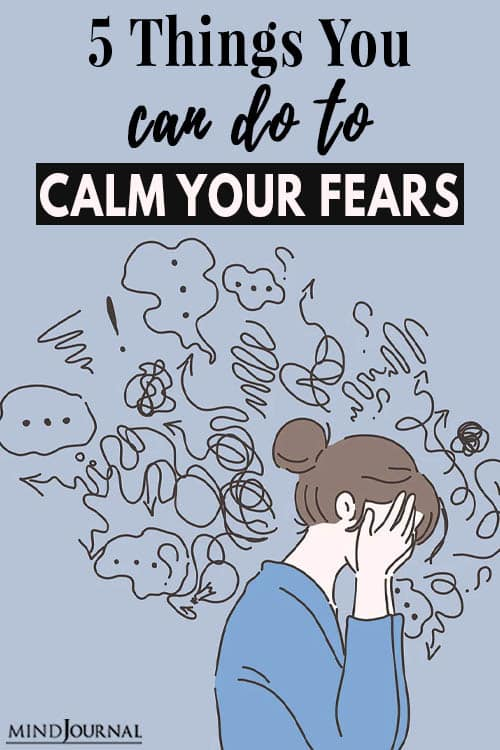 Things Do Calm Fears Now pin