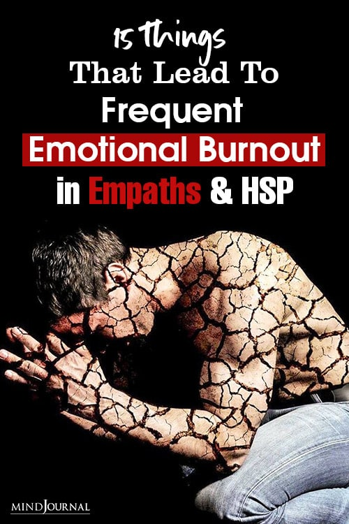 Things Lead Frequent Emotional Burnout Empaths and HSP-2 Pin