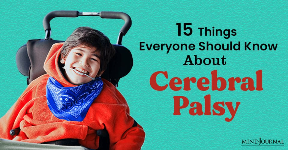 Things Should Know Cerebral Palsy