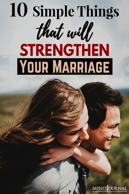 Things Strengthen Your Marriage pin
