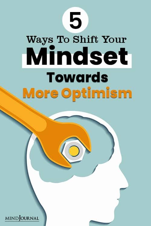Ways Shift Mindset More Optimism pin