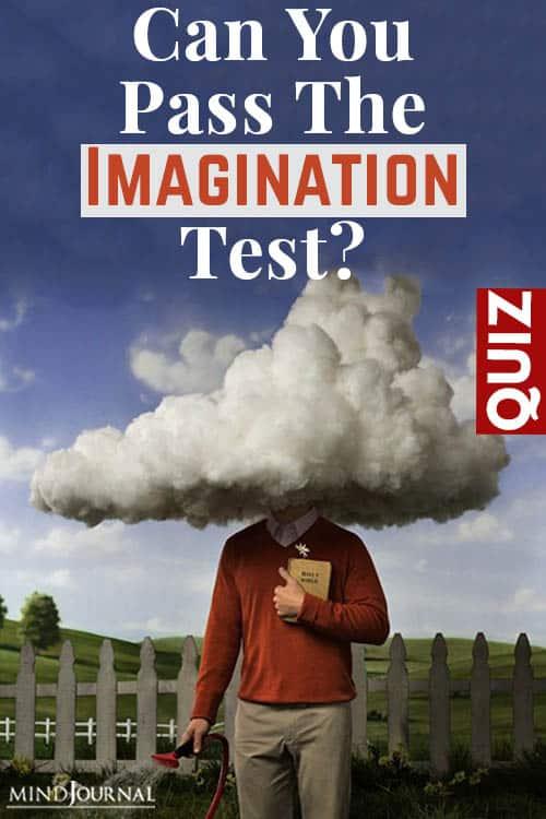 You Pass Imagination Test pin