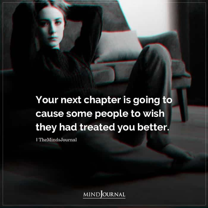 Your Next Chapter Is Going To Cause Some People To Wish