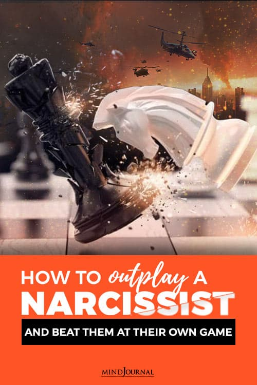 how to outplay a narcissist pin