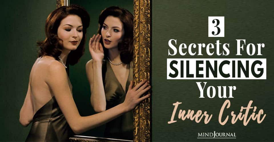 secrets silencing your inner critic