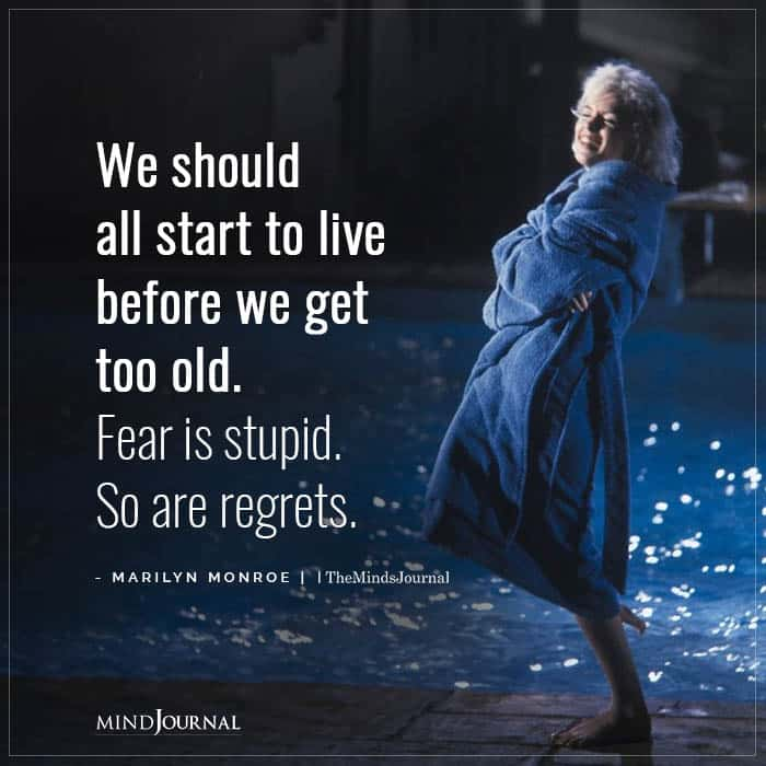 Let go of regrets in the New Year