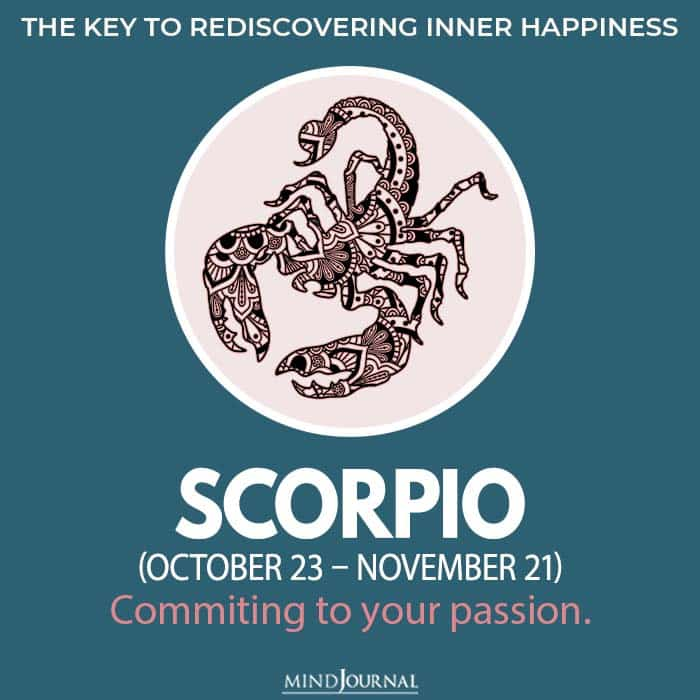 The Key To Rediscovering Inner Happiness Based On Your Zodiac Sign