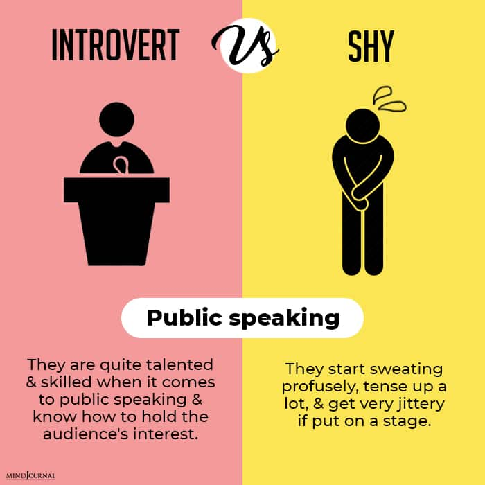 Being Introverted Being Shy Not Same conversations public speaking