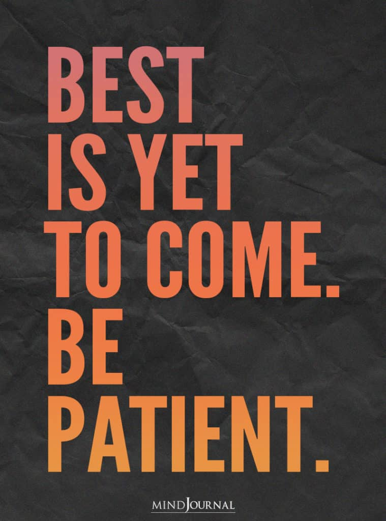 Best is yet to come.