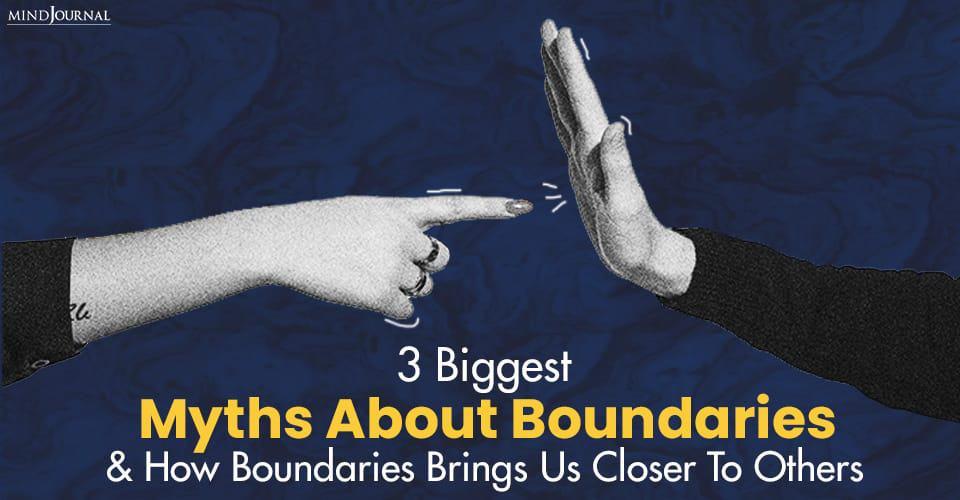 Biggest Myths Boundaries